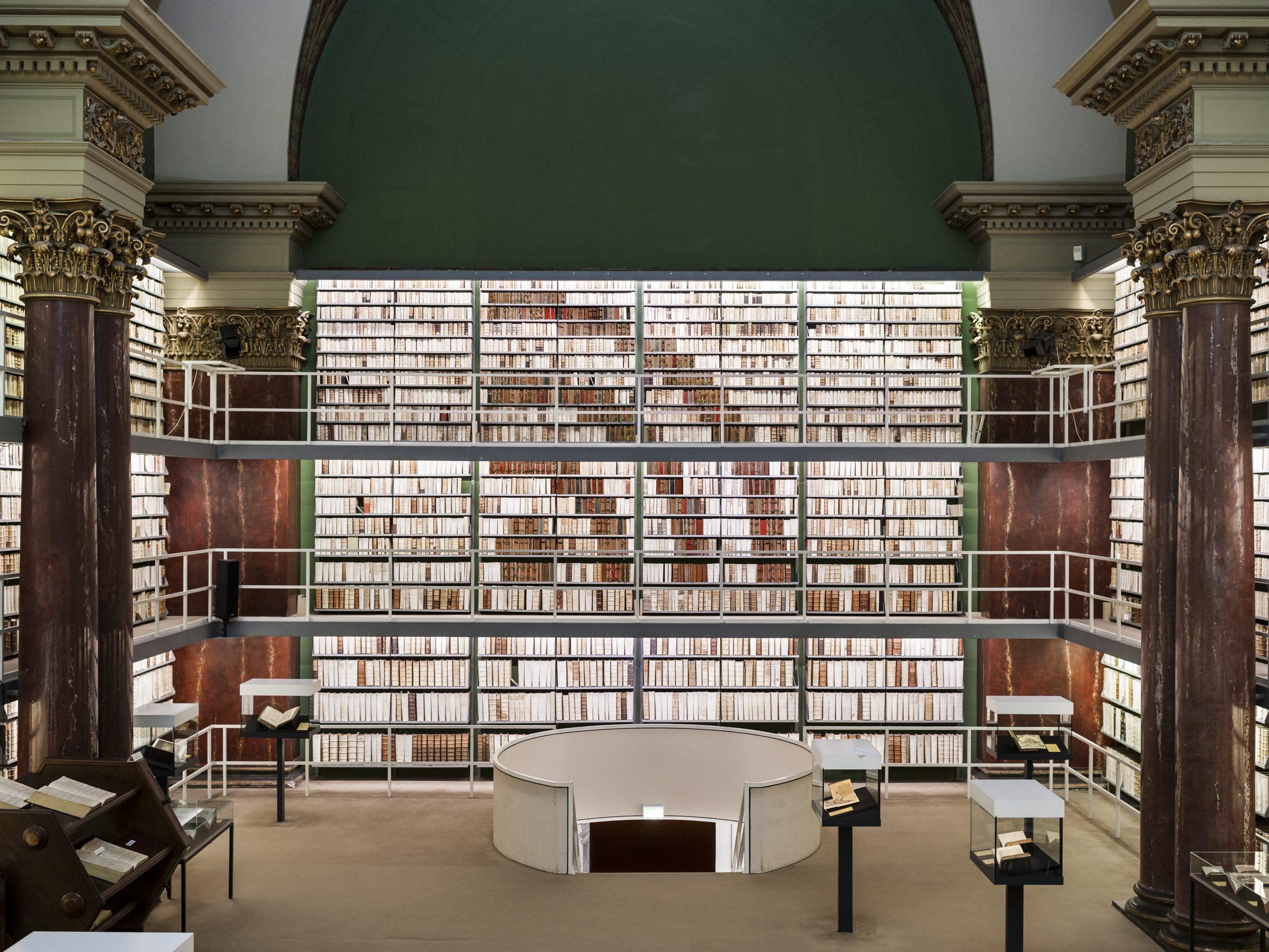 """""""Bibliotheken sind Teil der digitalen Gesellschaft"""", Herzog August Bibliothek Wolfenbüttel, Foto: dbv / Thomas Meyer, Ostkreuz"""